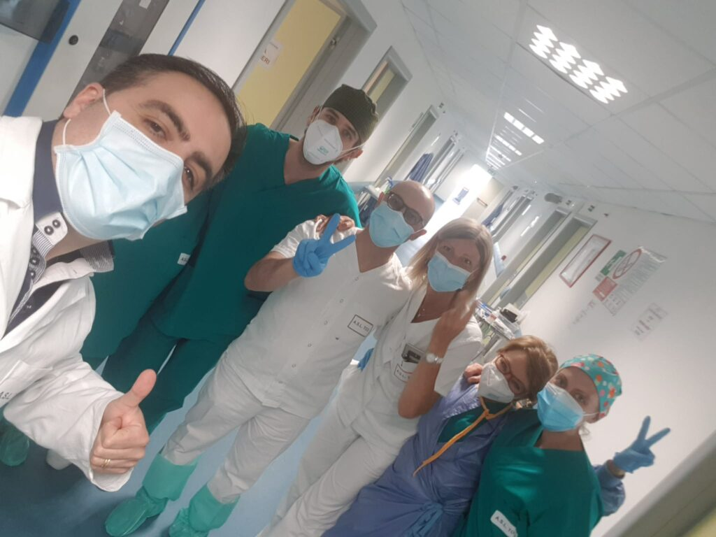 Ha chiuso oggi il reparto Covid dell'ospedale di Susa