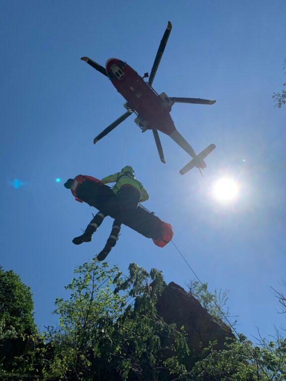 Uomo cade nei pressi della Goja del Pis: recuperato dal Soccorso Alpino e dal 118