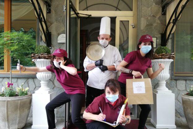 """""""La Betulla"""", il ristorante di Trana che ha saputo reinventarsi"""