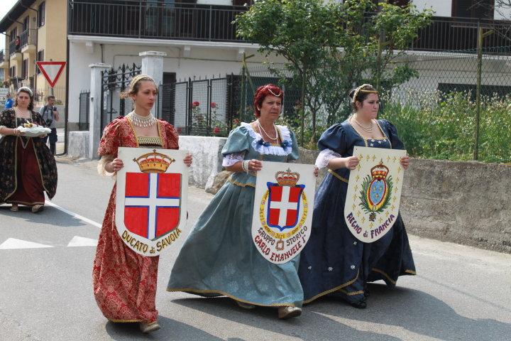 Bruzolo 1610, quando la Storia si fermò al Castello