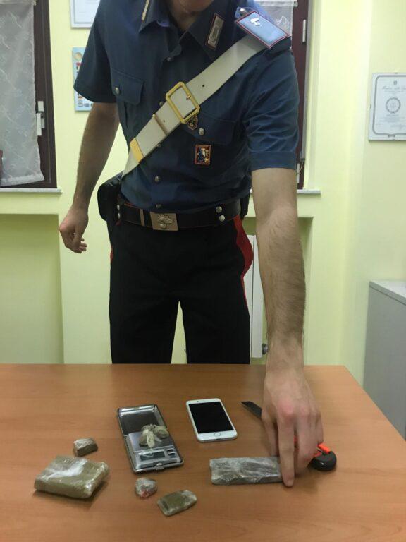 Droga in Val di Susa: i Carabinieri arrestano un quarantenne