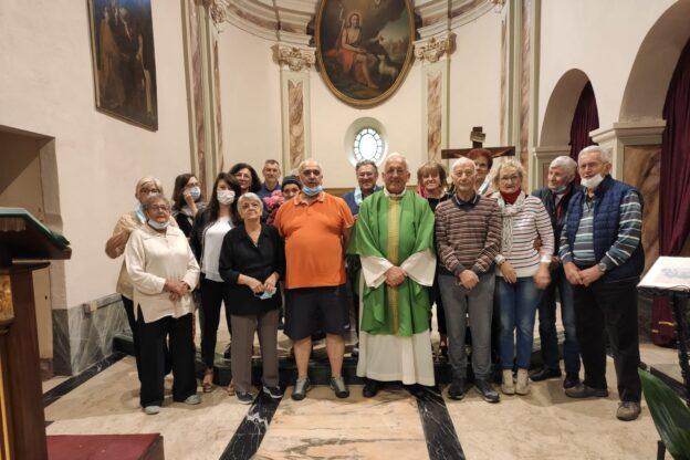 Giaveno, il parroco don Gianni Mondino festeggia 50 anni di sacerdozio