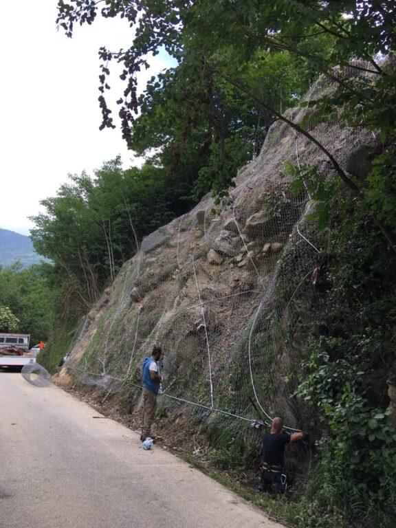 Coazze, riaperta la strada provinciale 192 chiusa due settimane fa per frana