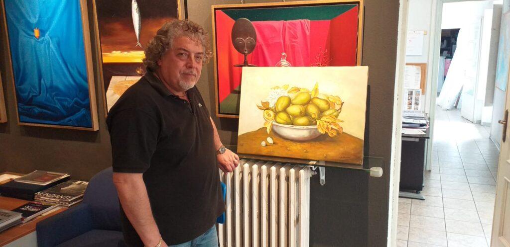 L'artista giavenese Antonio Nunziante nel mirino dei falsari