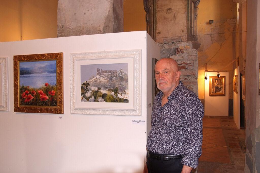 L'aviglianese Alfredo Ciocca festeggia sessant'anni di pittura