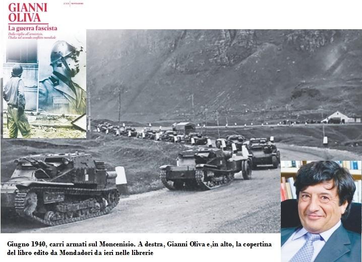 Gianni Oliva racconta la guerra fascista e la pugnalata alla Francia