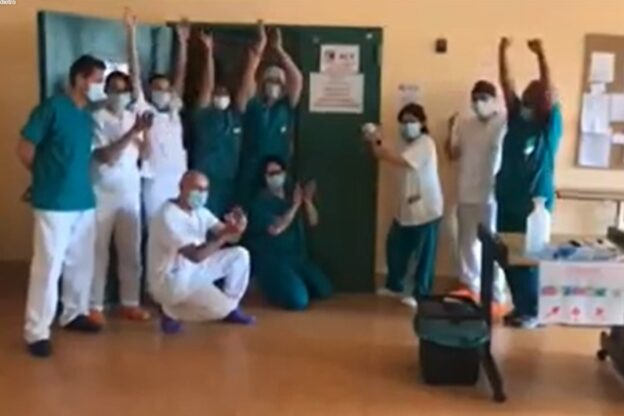 Chiuso il reparto Covid-19 dell'ex ospedale di Giaveno