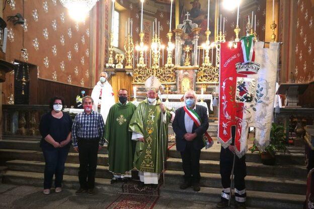 La comunità di San Giorio ha accolto il vescovo Cesare