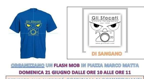 """Sangano, domenica 21 giugno un flash mob de """"Gli Sfocati"""""""