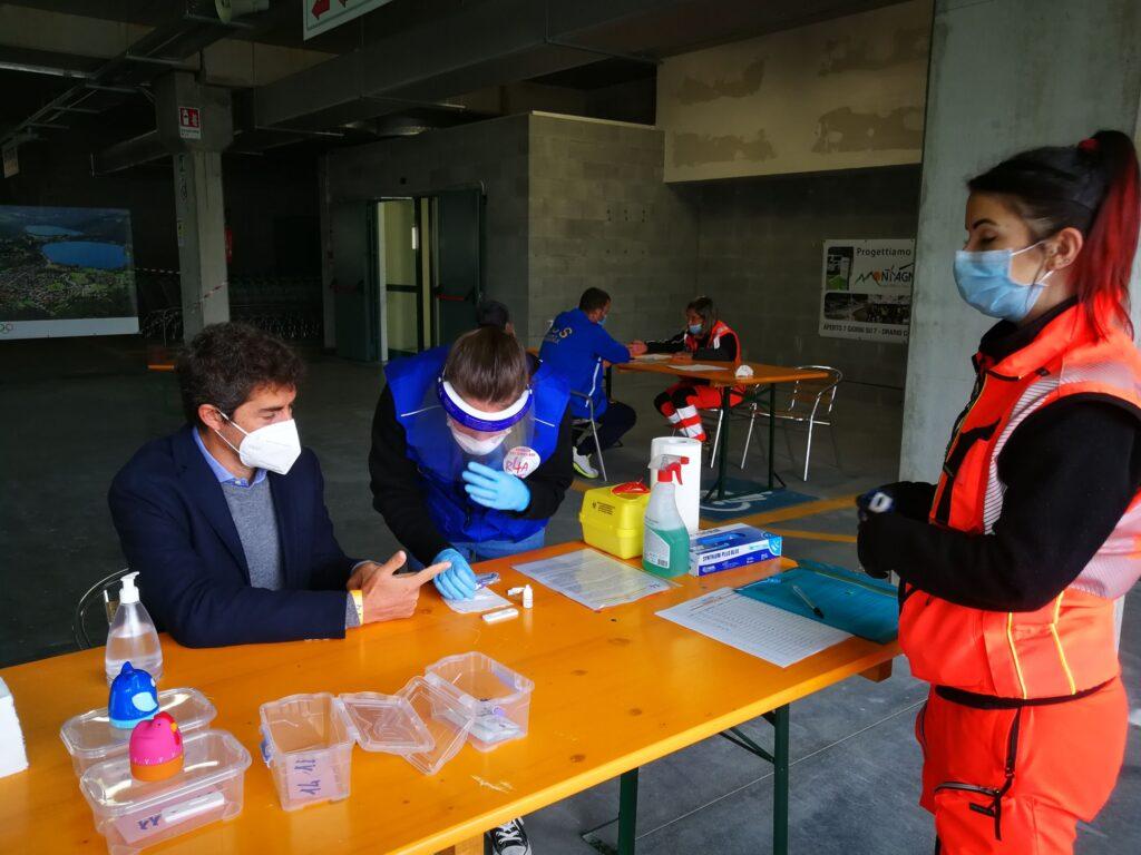Partita l'indagine sierologica sul Covid-19 in Alta Val di Susa: 243 test in due giorni
