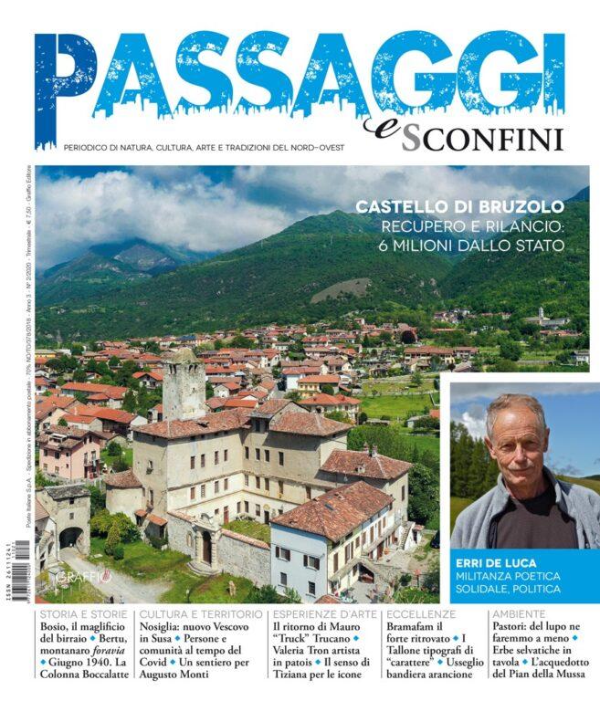 """Il Castello di Bruzolo sulla rivista """"Passaggi e Sconfini"""""""