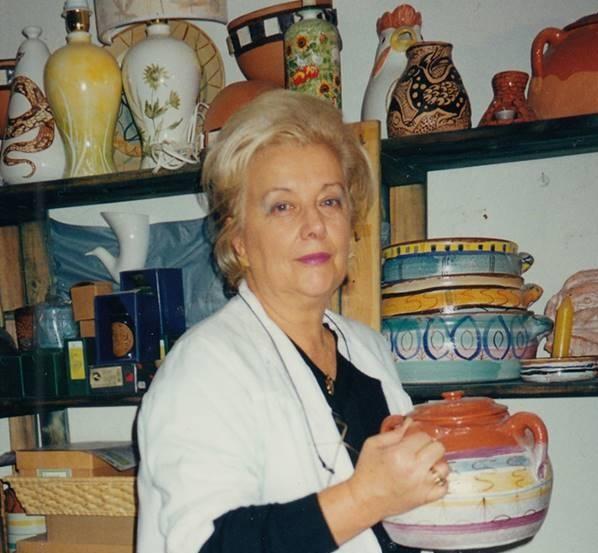 Giaveno e Trana hanno salutato Cleo che, oltre alla ceramica, dipinse la vita