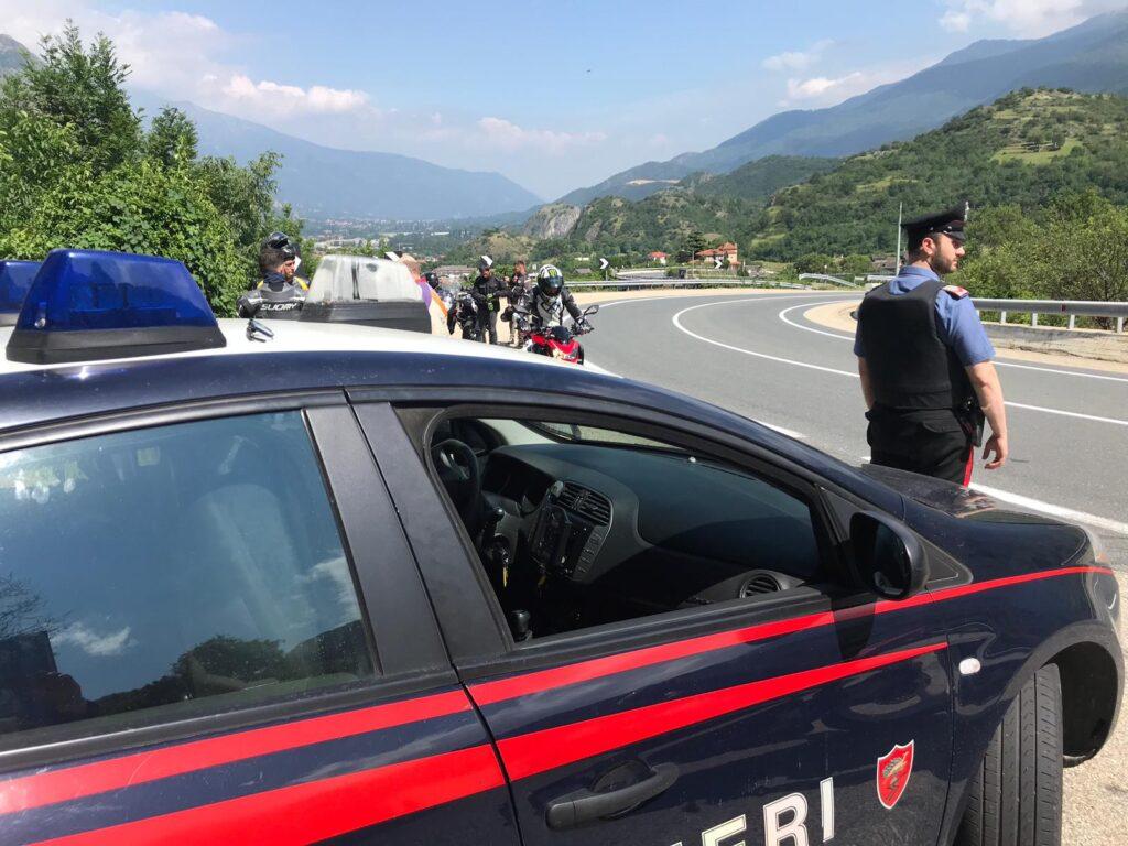 Val di Susa, i Carabinieri ritirano 11 moto truccate per aumentarne rumore e velocità