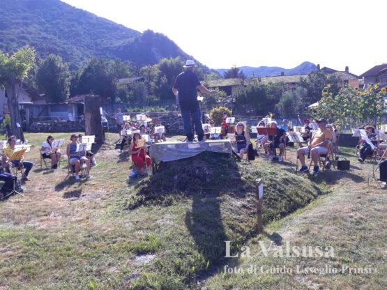 Flash mob Ennio Morricone (Foto Guido Usseglio Prinsi)