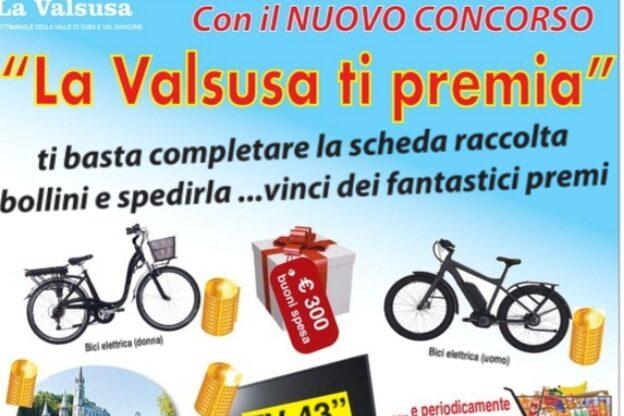 """Ecco i primi cinque vincitori del concorso """"La Valsusa ti premia"""""""