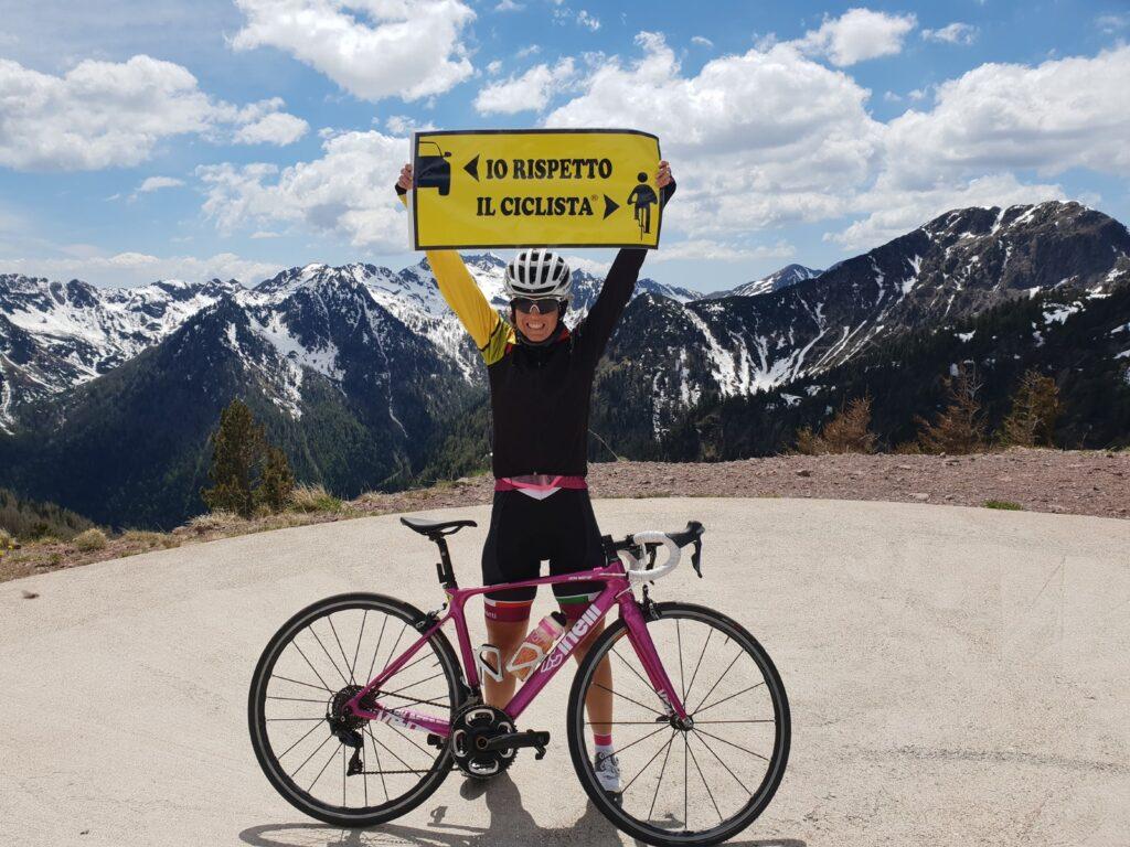 Giaveno e Coazze pronte ad accogliere la ciclista Paola Gianotti