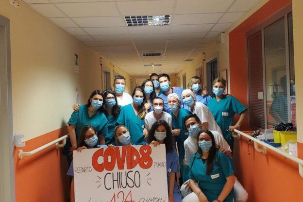 Chiuso l'ultimo reparto Covid dell'ospedale di Rivoli