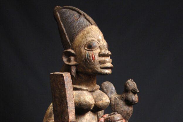 Volti, espressioni dell'Africa subsahariana in mostra a Rubiana
