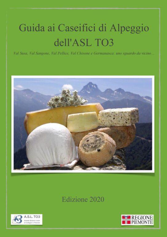 È uscita la Guida ai Caseifici d'Alpeggio dell'Asl To3