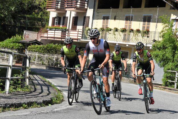 Su e giù per il Braida in bici: l'Everesting del giavenese Lorenzo Micca