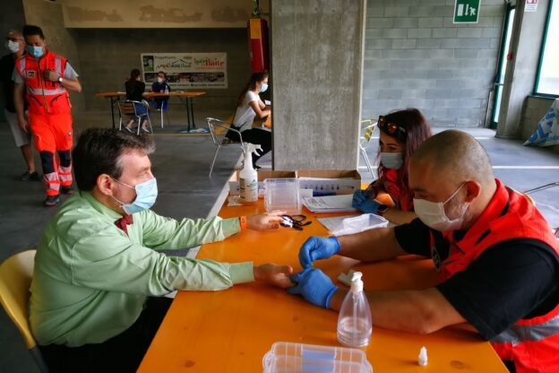 Dal 22 luglio al via i test sierologici anche in Bassa Val di Susa