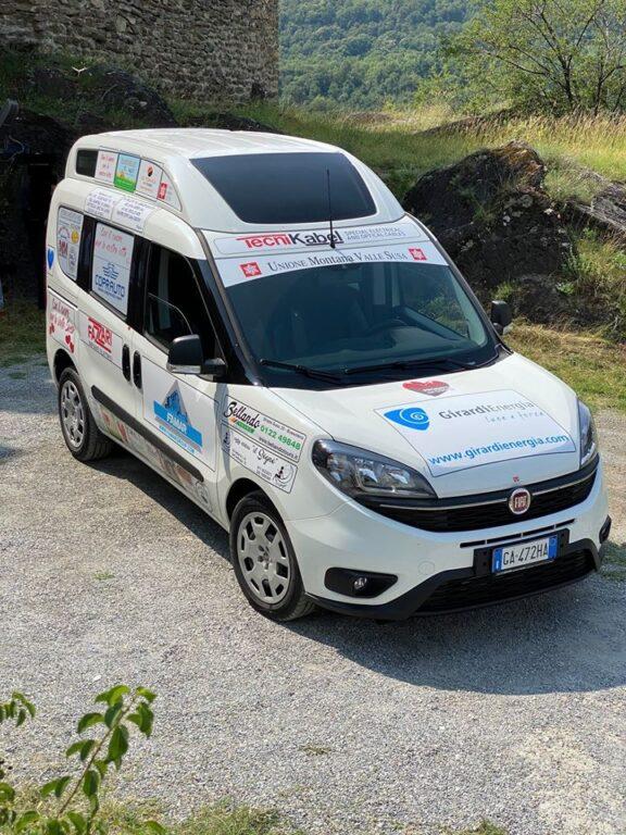 """Val di Susa, un nuovo veicolo alimentato a """"Progetti del cuore"""""""