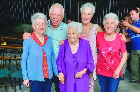 Avigliana, per Nonna Emma le candeline sono 102