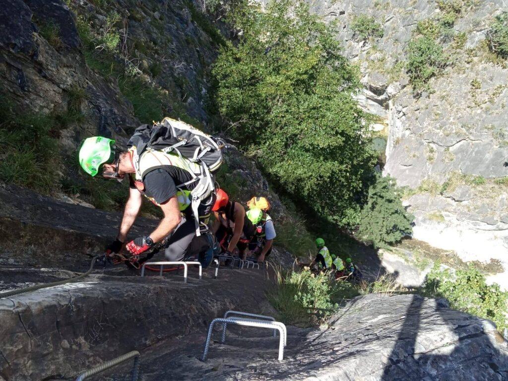 Val di Susa, donna cade lungo la ferrata dell'Orrido di Foresto