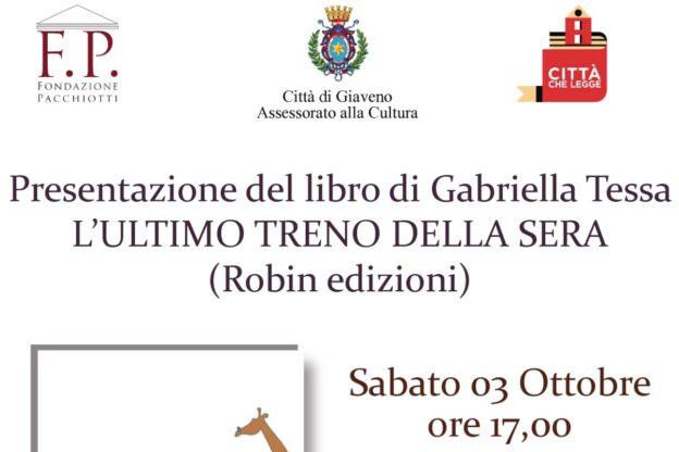 Giaveno, Gabriella Tessa presenta il suo romanzo d'esordio