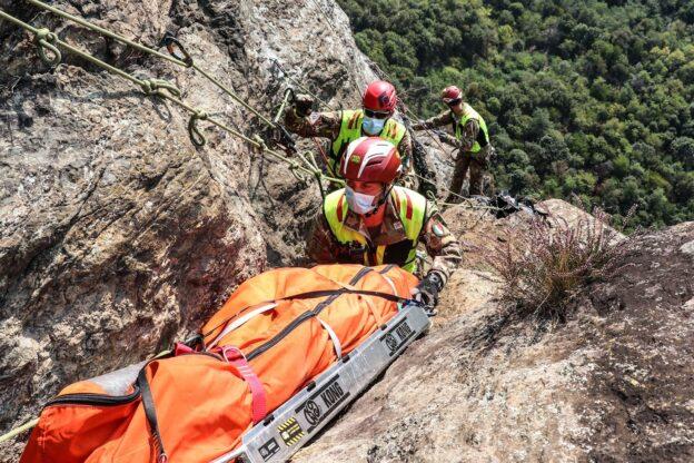 """""""Altius"""", gli specialisti del soccorso si sono addestrati in Val di Susa"""