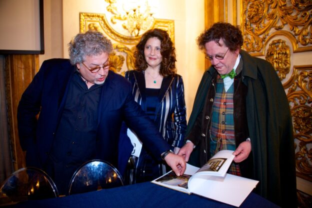 L'artista giavenese Antonio Nunziante ricorda Philippe Daverio