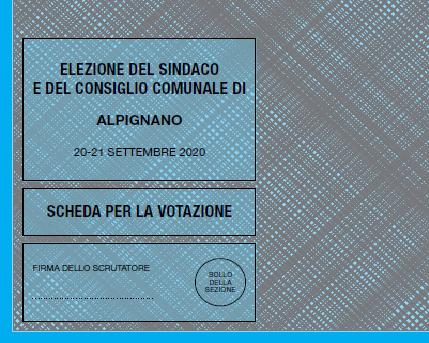 Alpignano, domenica al voto 6909 elettori