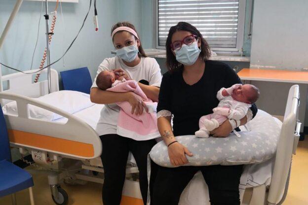 Due sorelle di Avigliana partoriscono a due giorni di distanza l'una dall'altra