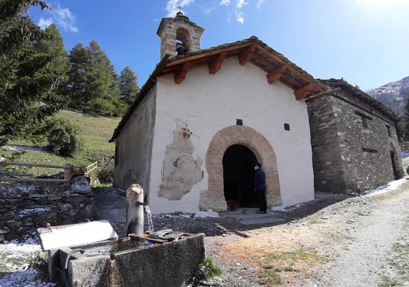 Salbertrand, è rinata la cappella del Seu nel Parco del Gran Bosco