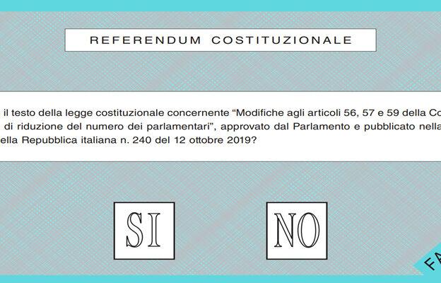 Referendum costituzionale: ai seggi con le norme anti Covid-19