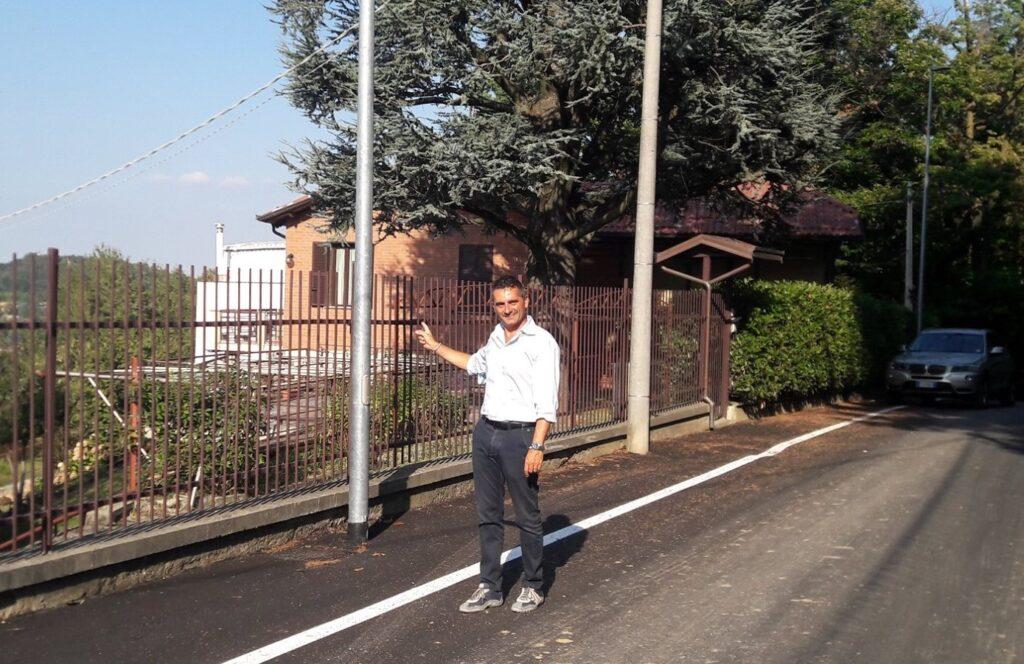 Terminati i lavori di asfaltatura a Rosta