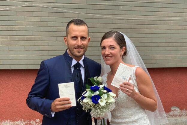 Alpignano: Ylenia e Giovanni, sposi ed elettori