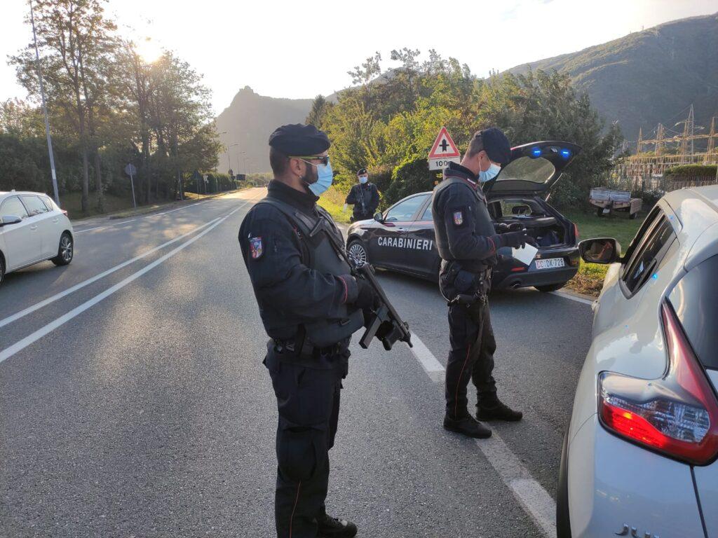 Controlli a tappeto dei Carabinieri in Val di Susa: molte le denunce