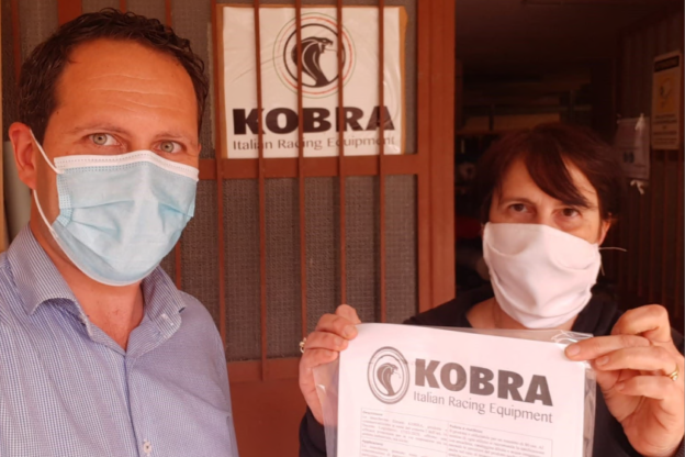 Giaveno, le mascherine Kobra ottengono la certificazione europea