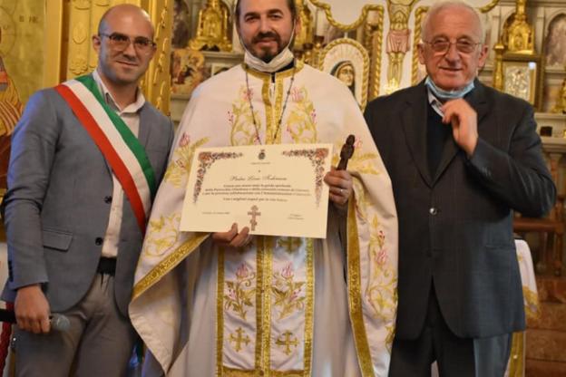 Giaveno, padre Livius ha lasciato la guida della parrocchia ortodossa