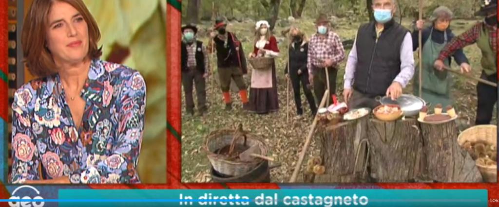 Sua Maestà il Marrone valsusino raccontato in diretta tv su Geo