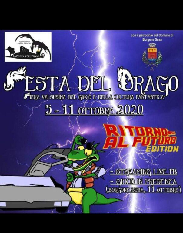 """""""La Festa del Drago 2020"""" di Borgone"""
