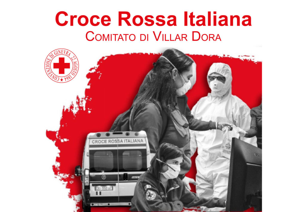 Croce Rossa di Villar Dora, il corso per volontari si fa online