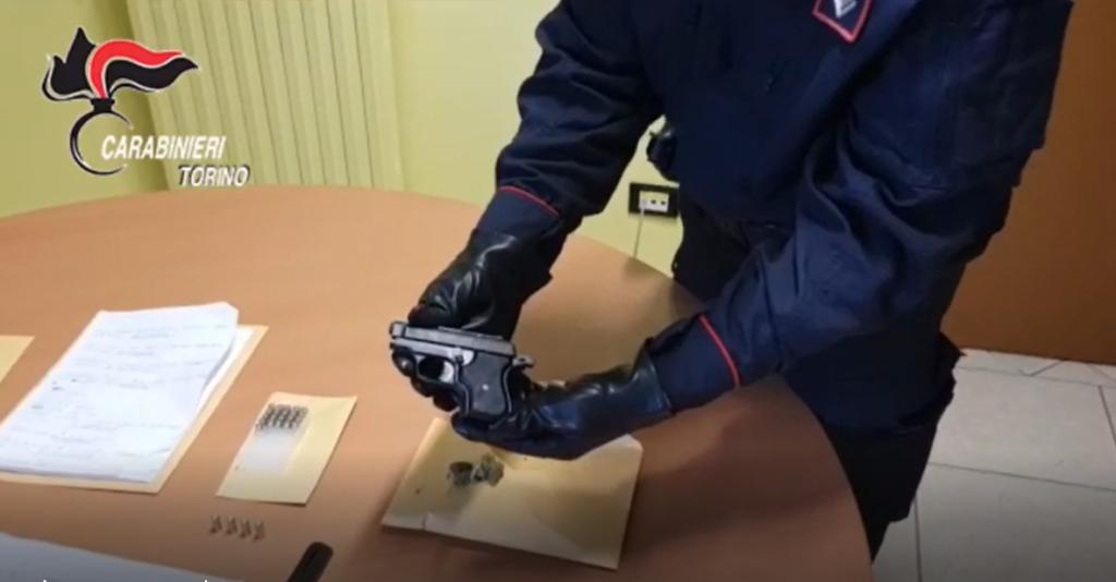 """Trana, i Carabinieri arrestano il """"postino della droga"""""""