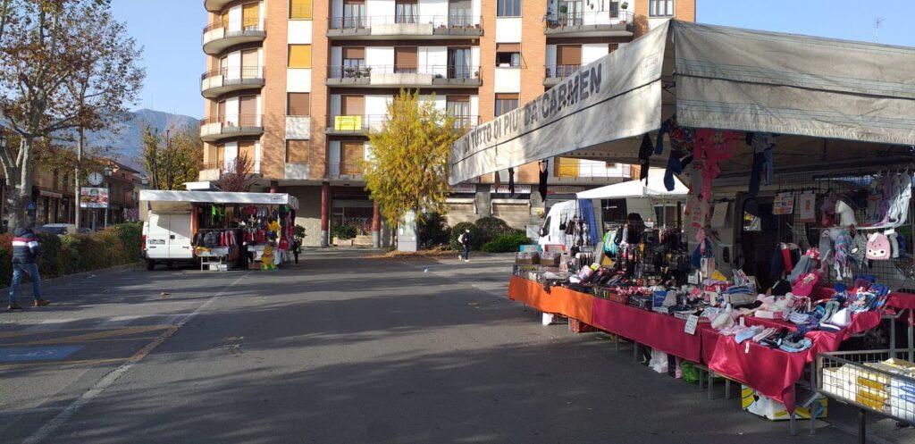I mercati possono ospitare soltanto banchi di prodotti alimentari