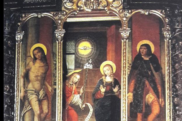 Avigliana, scopriamo il trittico del Santuario della Madonna dei Laghi