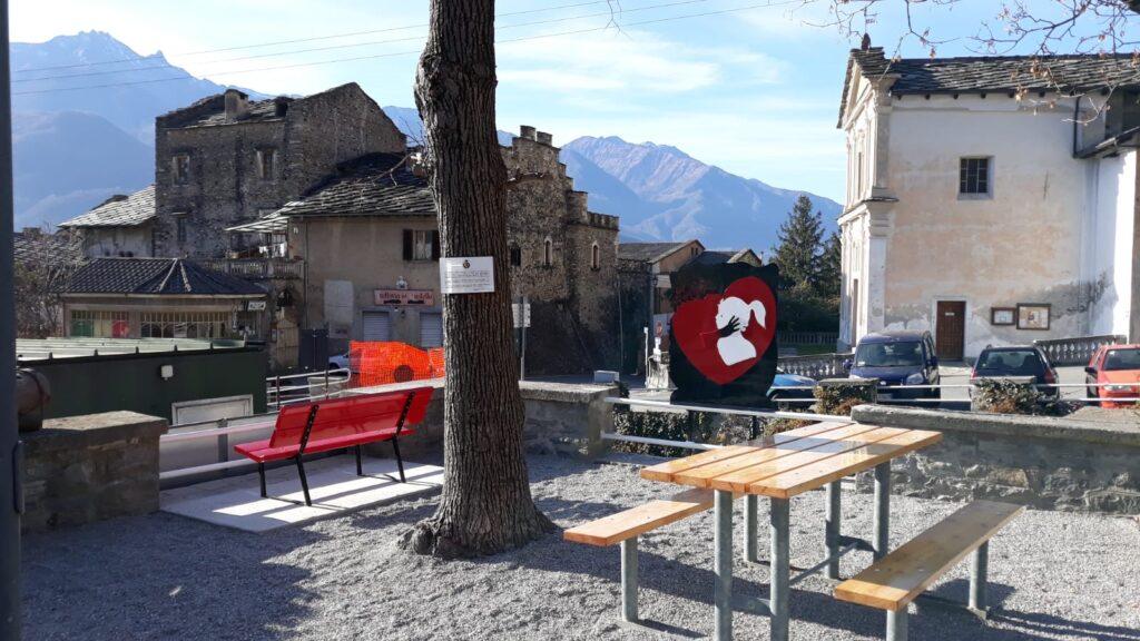 A Chianocco inaugurata un'area dedicata alle donne vittime di violenza