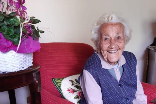 Giaveno, la battaglia di Clelia che a 99 anni ha sconfitto alla grande il virus
