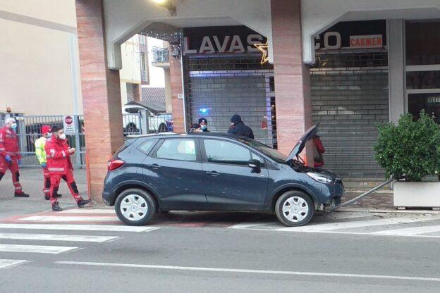 Giaveno, incidente in viale Regina Elena