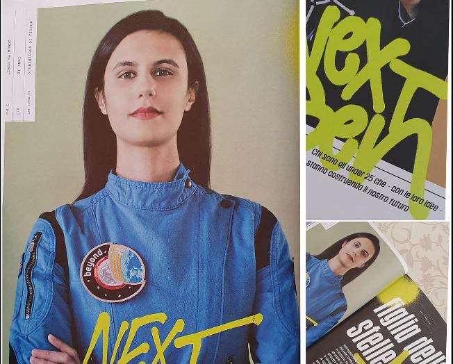 L'aspirante astronauta valsusina Linda Raimondo è su Wired Italia